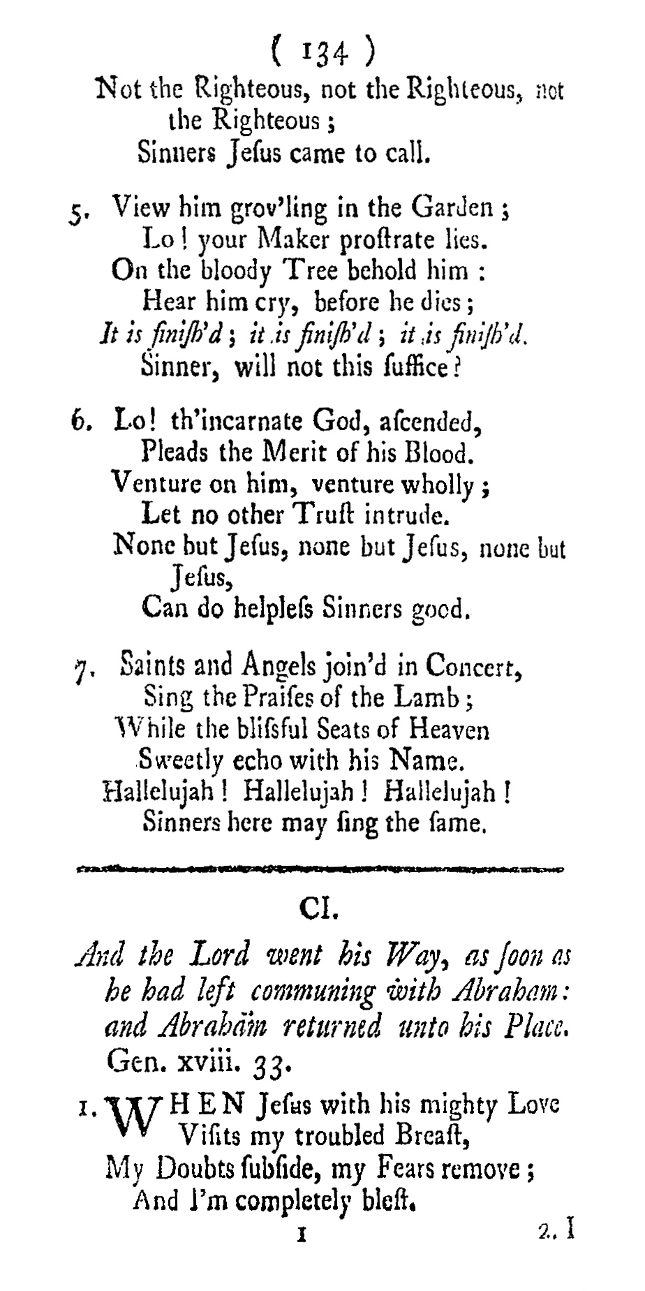 Fig. 1.  Joseph Hart,  Hymns, &c., Composed on Various Subjects  (London: J. Everingham, 1759).