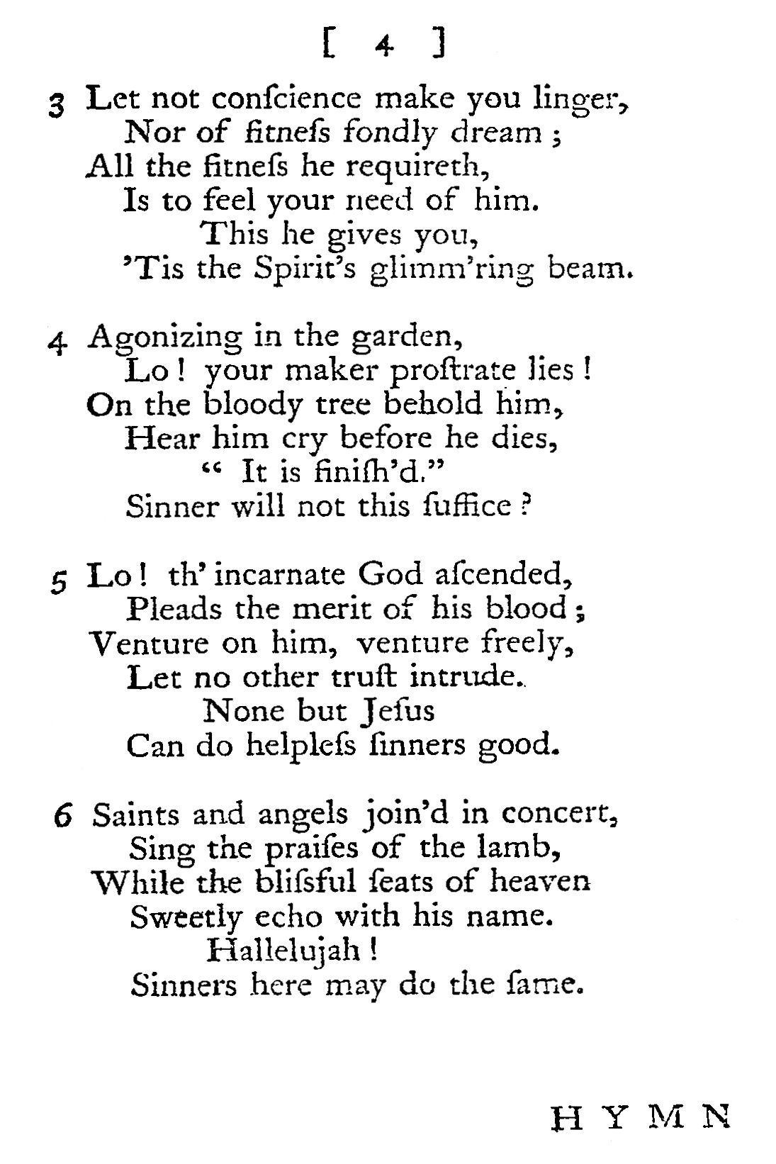 Fig. 2.  Richard Conyers,  A Collection of Psalms and Hymns  (London: T. & J.W. Pasham, 1767).