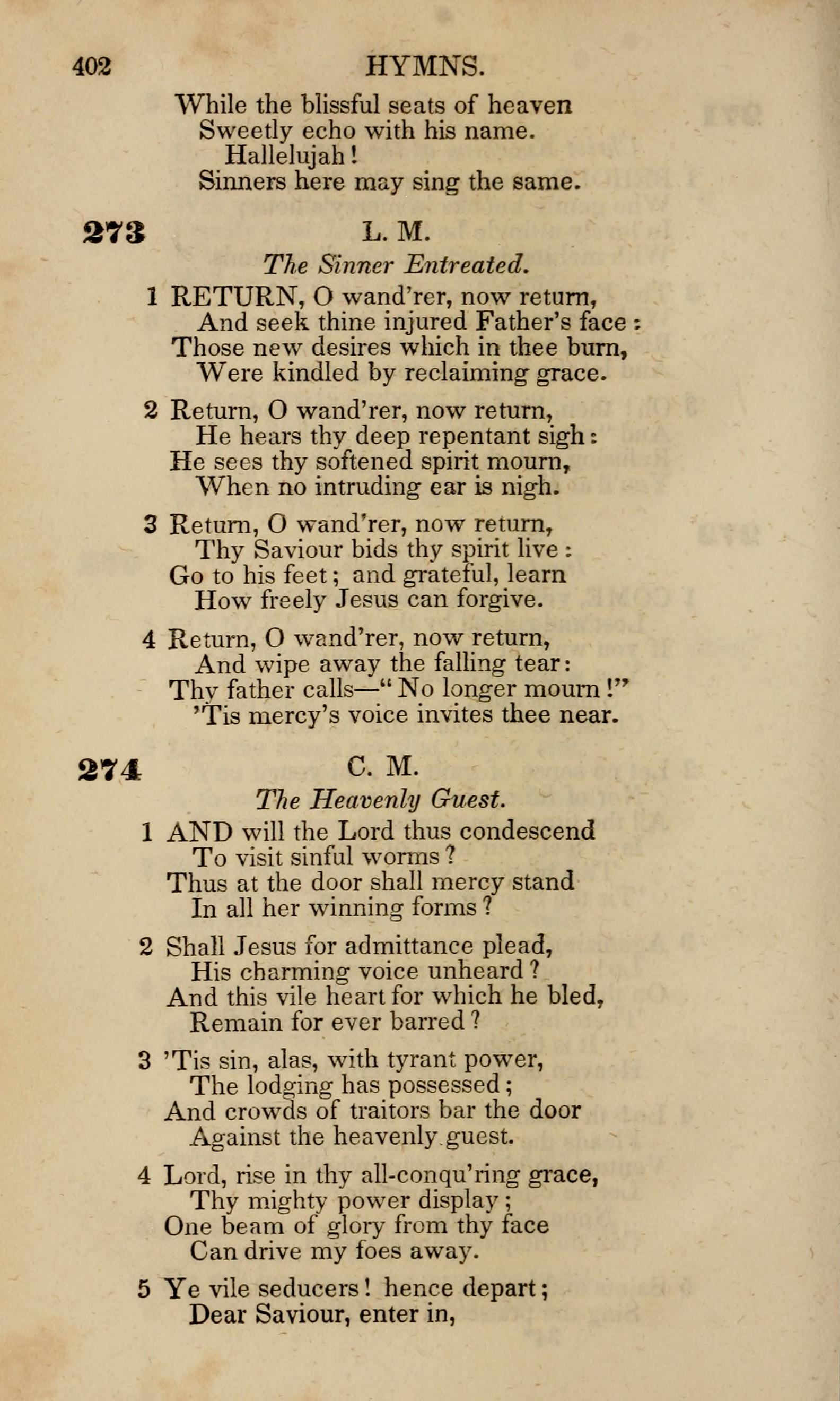Fig. 6.  Nathan S.S. Beman,  Sacred Lyrics  (Troy, NY: A Kidder, 1841).