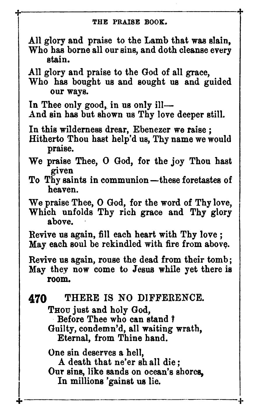 Fig. 4.  William Reid,  The Praise Book  (London: James Nisbet, 1872).