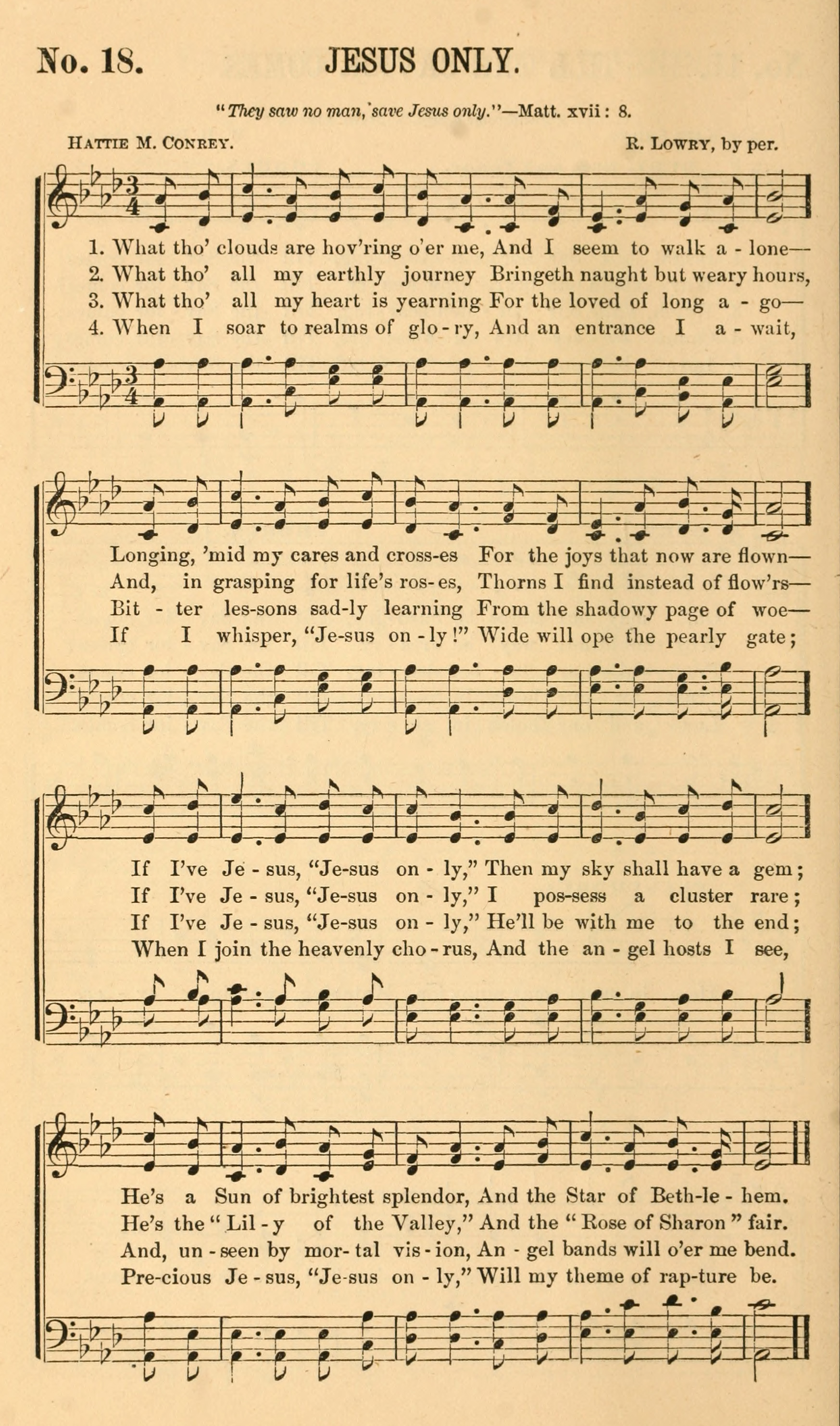 Fig. 5.  Robert Lowry & Wm. H. Doane,  Gospel Music  (NY: Biglow & Main, 1877).