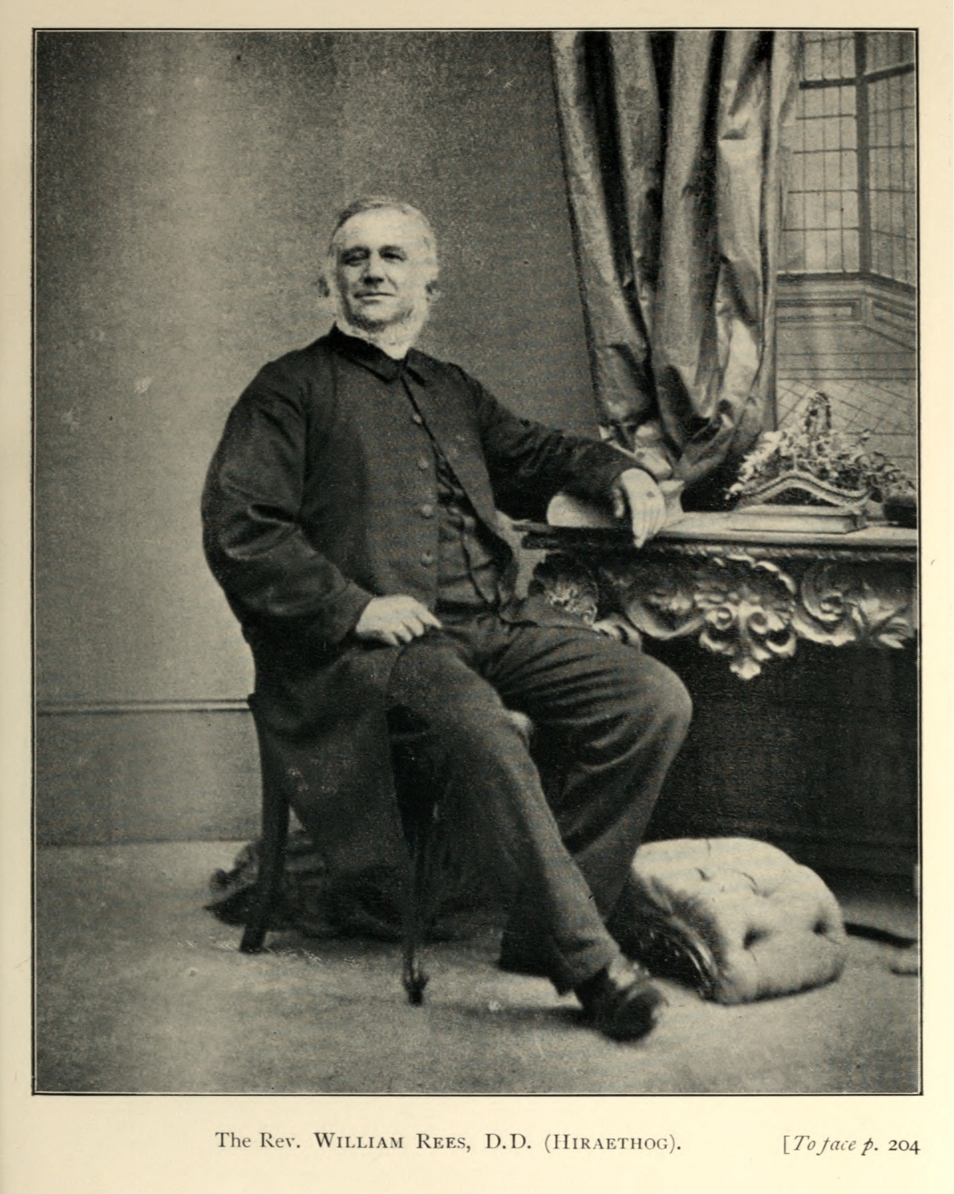 William Rees,  in  Welsh Religious Leaders in the Victorian Era  (London: James Nisbet, 1905).