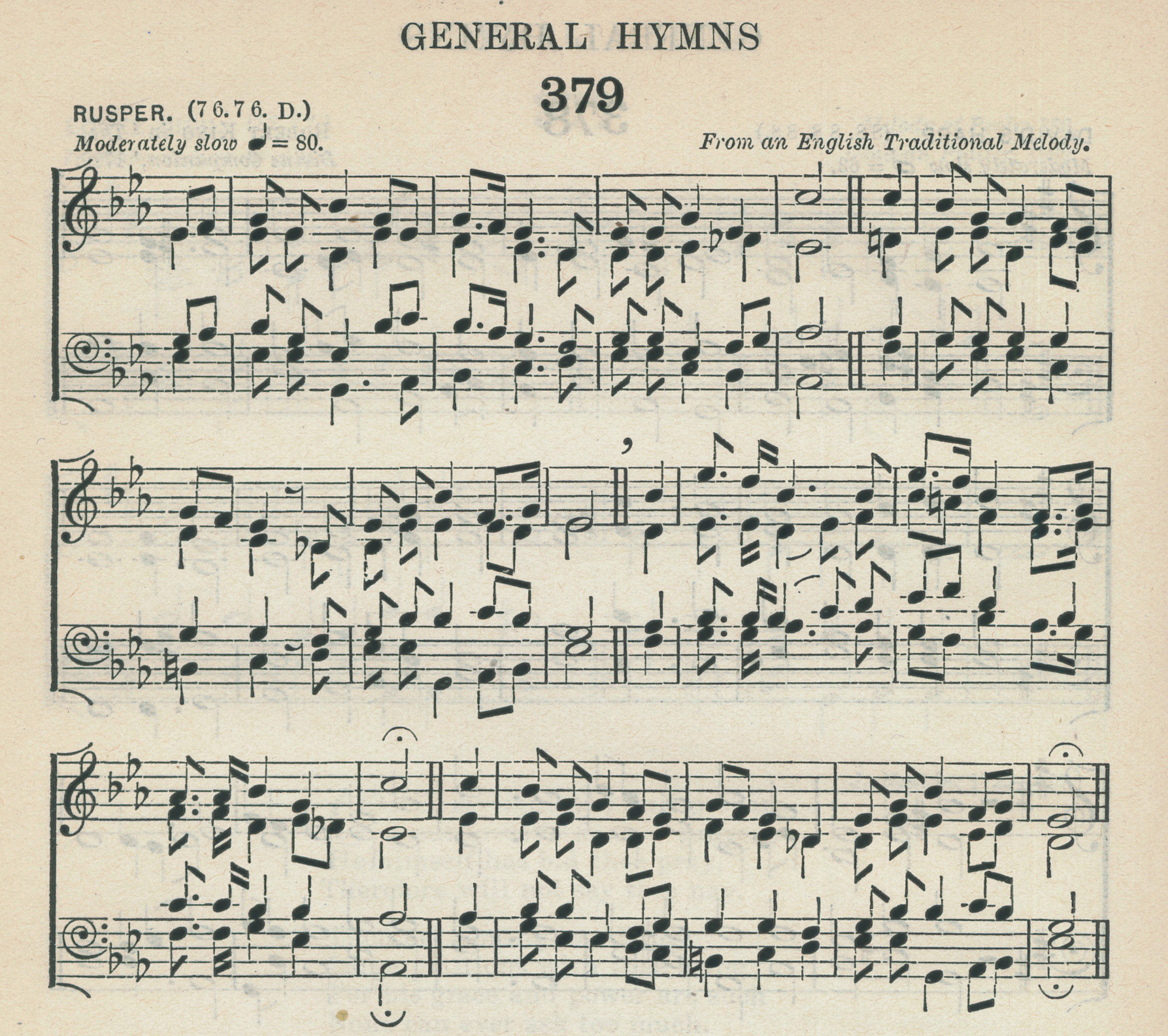 Fig. 3.   The English Hymnal  (Oxford: University Press, 1906).