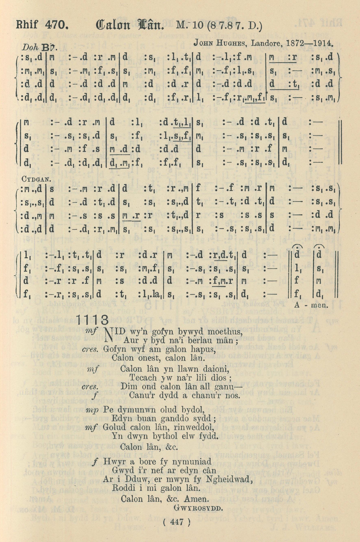Fig. 6.   Y Caniedydd Cynulleidfaol Newydd  (Swansea: Bookroom of the Welsh Independents, 1921).