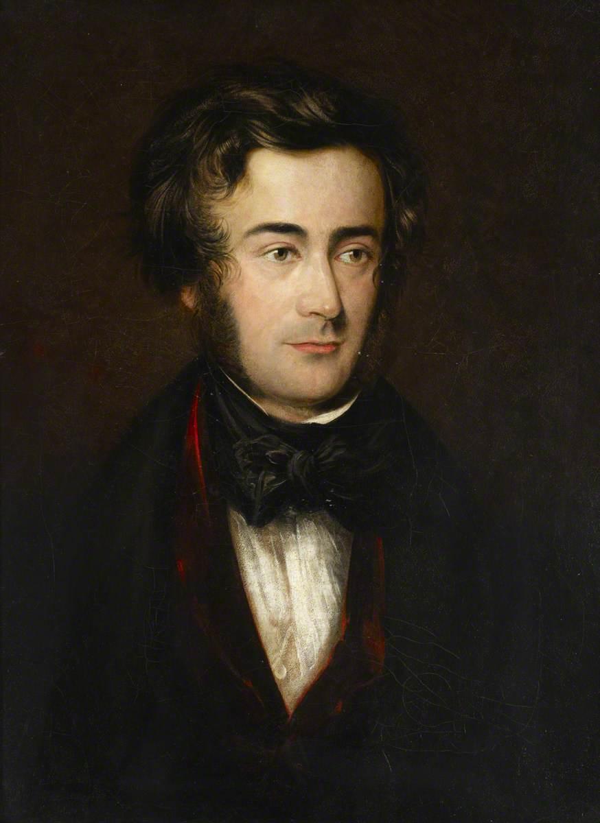 Samuel Sebastian Wesley,  oil painting, 1830s, Royal College of Music.