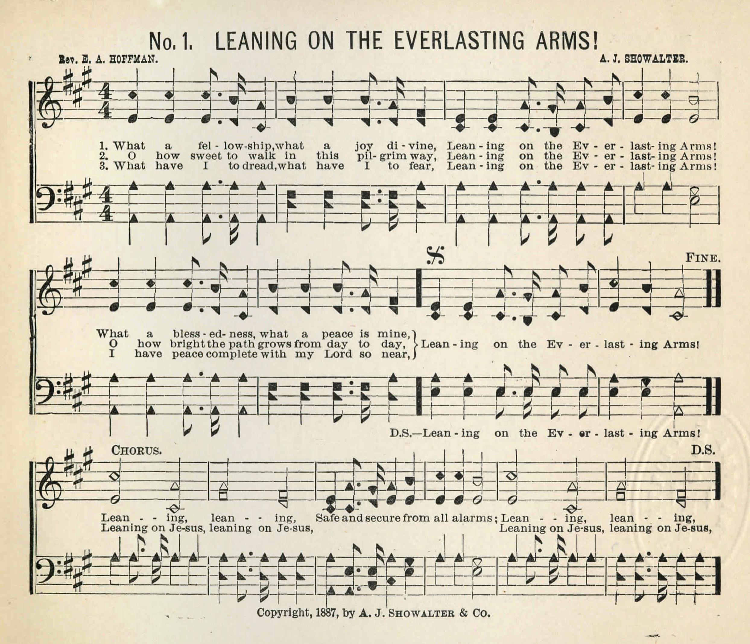 Fig. 1.   The Glad Evangel  (Dalton, GA: A.J. Showalter, 1887).