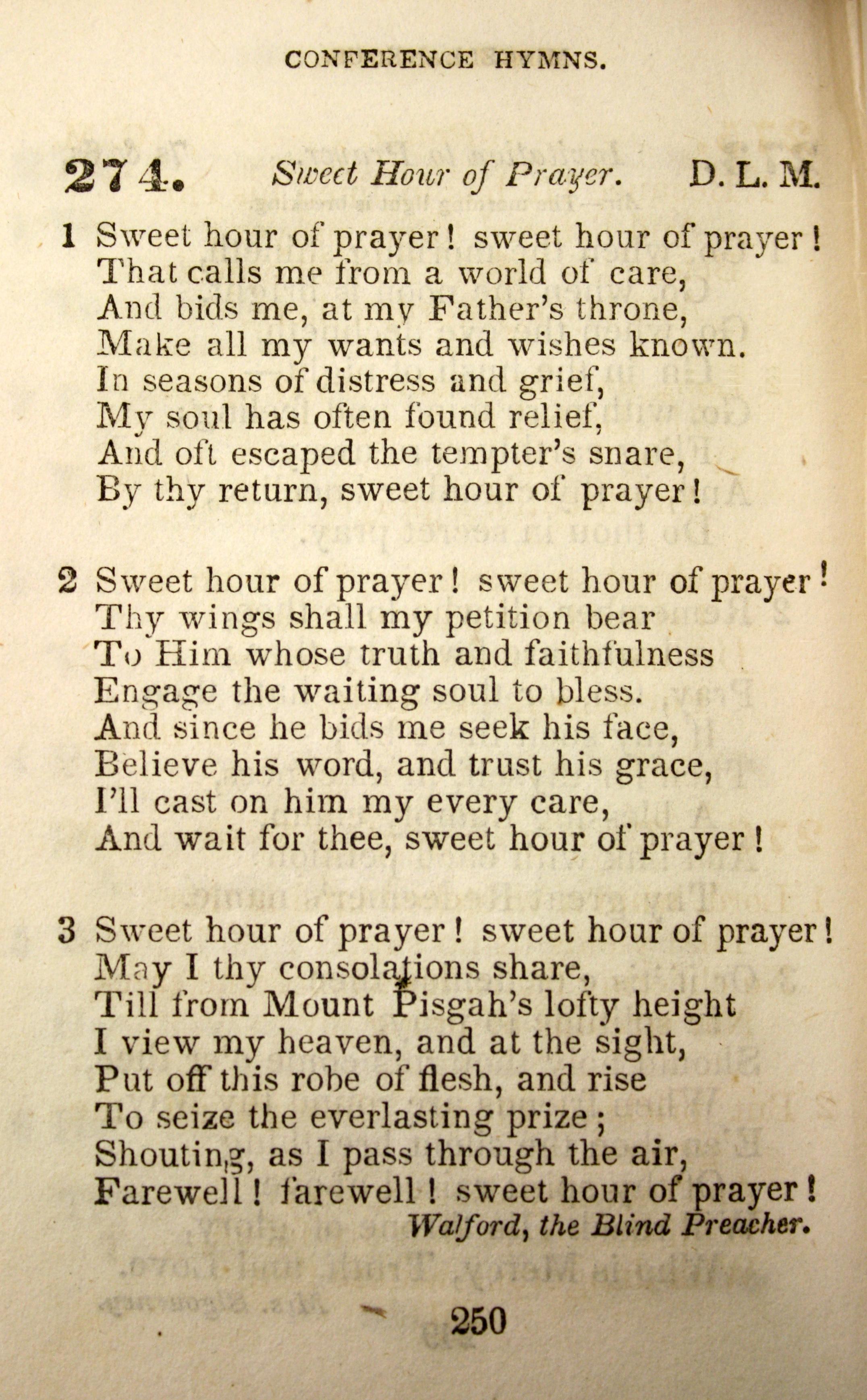 Fig. 2.     Conference Hymns , ed. John Dowling (NY: Edward H. Fletcher, 1849).