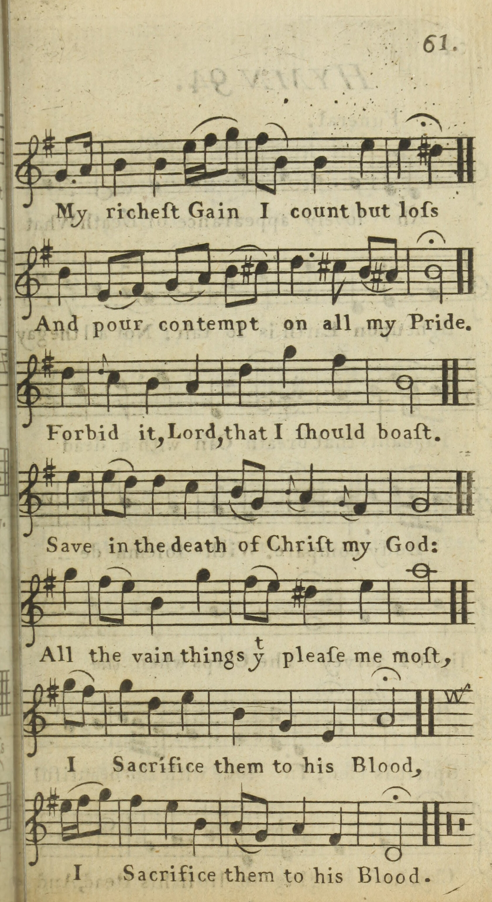 Fig. 3.     Select Hymns with Tunes Annext  (1761).