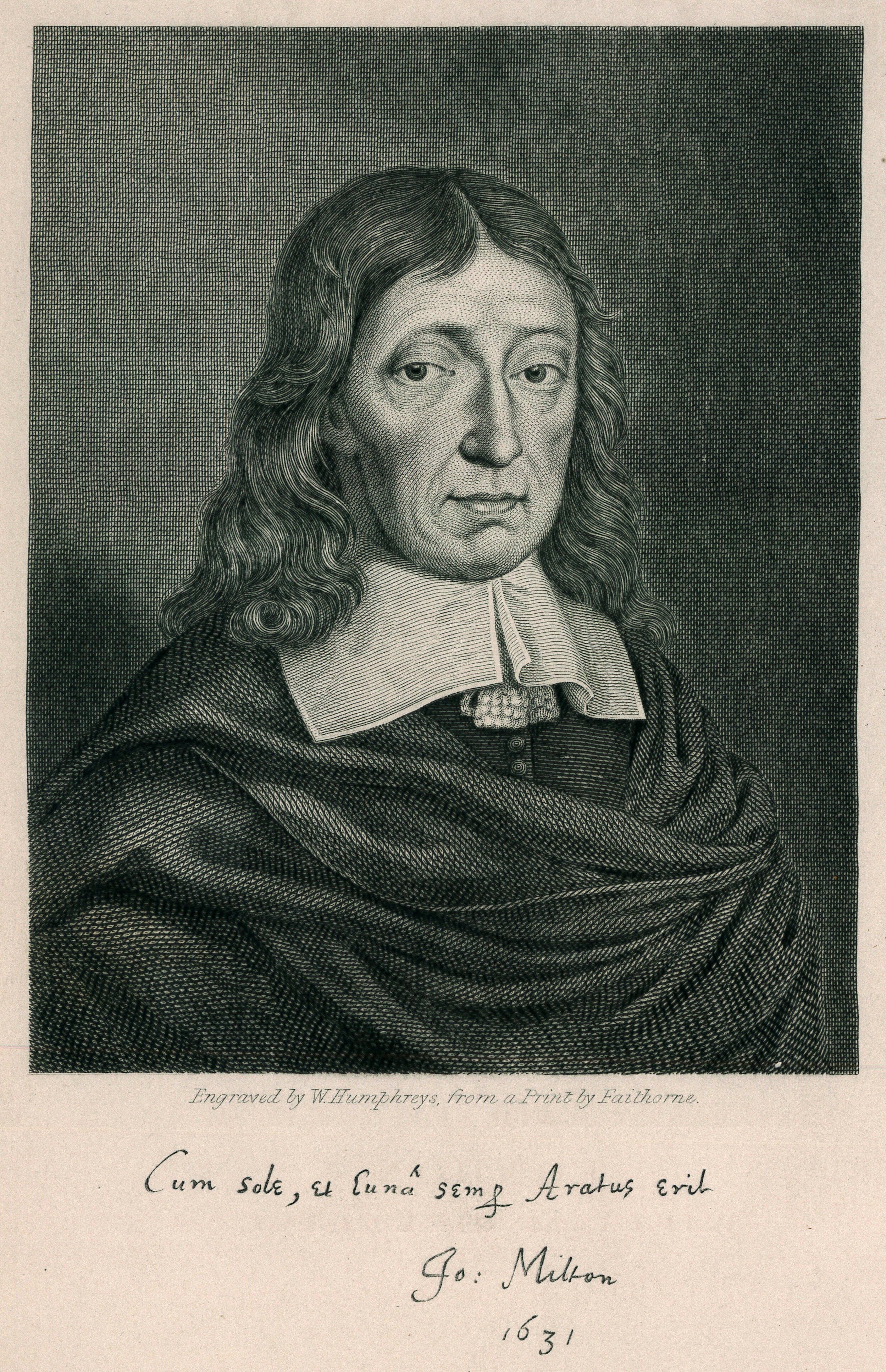 John Milton , in  The Works of John Milton  (1851).