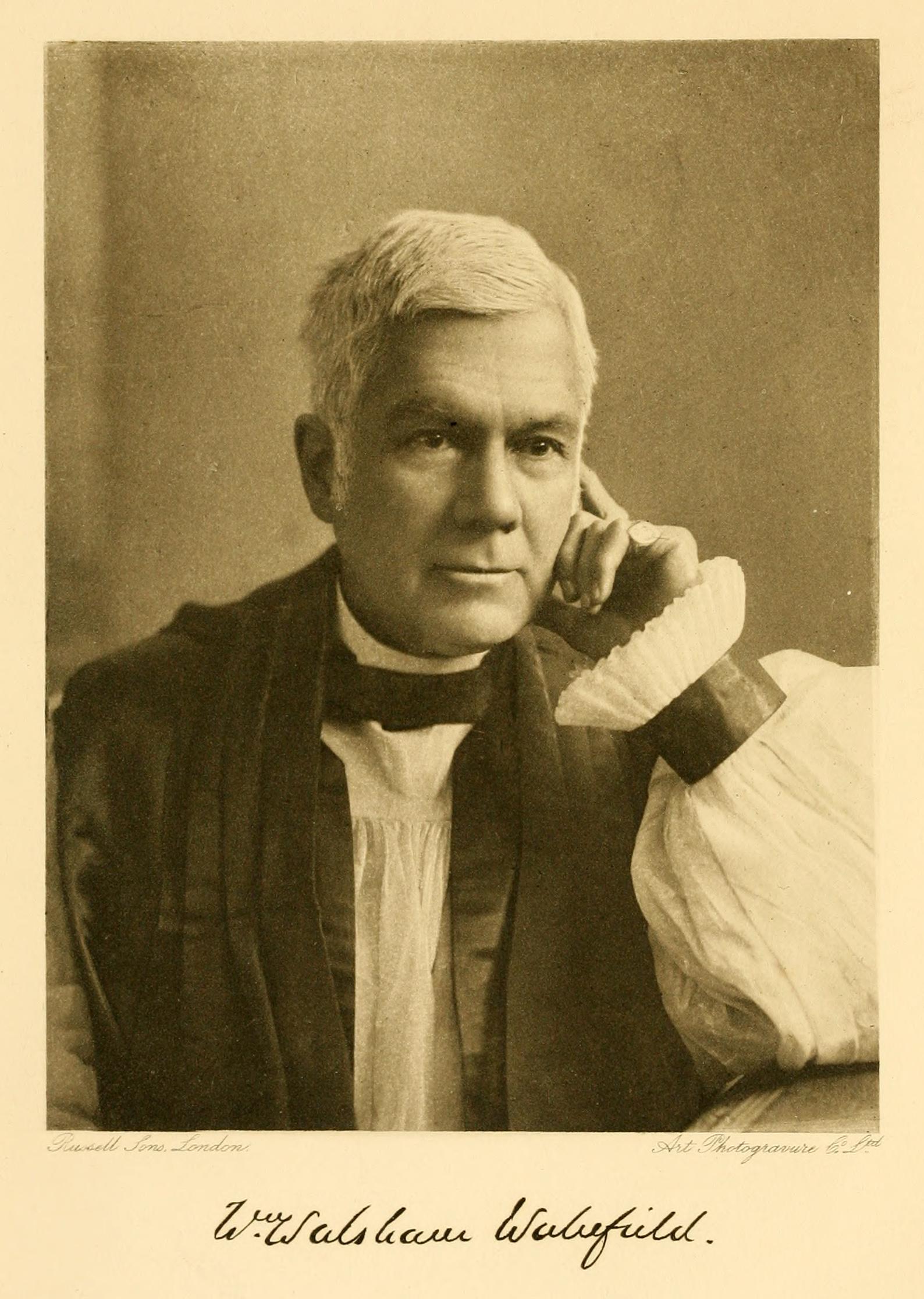 William Walsham How , in  Bishop Walsham How: A Memoir  (1899).
