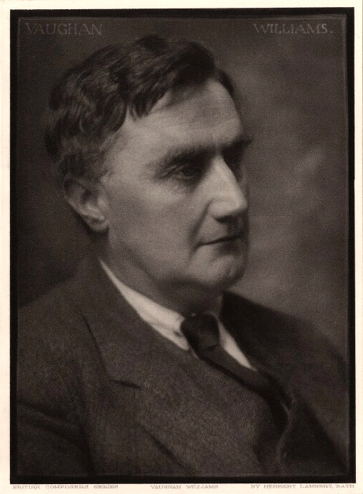 Ralph Vaughan Williams,  photo by Herbert Lambert (ca. 1923),  National Portrait Gallery  (London).