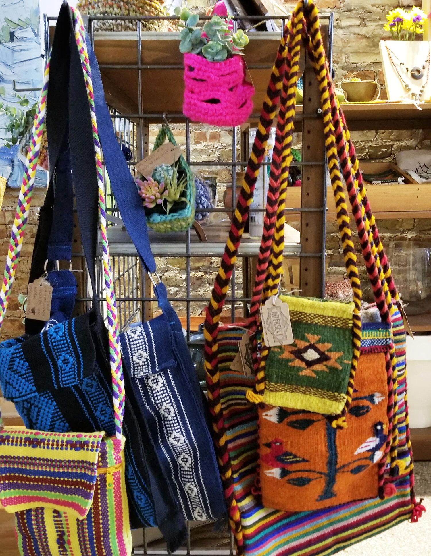 Handwoven textiles from Teotlitán del Valle and Santo Tomás Jalieza, Oaxaca