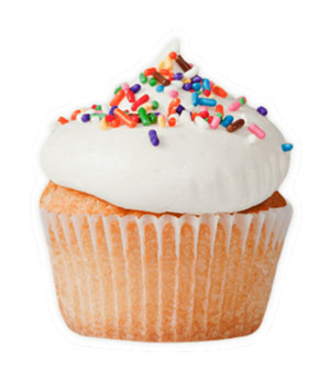 Classic Vanilla - *V | GFClassically sweet and simple vanilla cupcake with vanilla buttercream