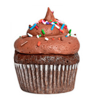 Classic Chocolate - *V | GFDark Chocolate cupcake with fudgy chocolate buttercream frosting