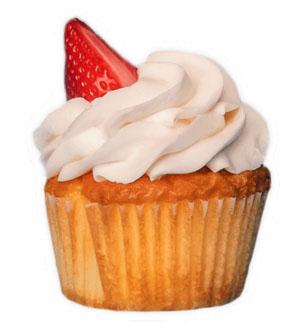 Strawberry Shortcup - *V | GFSweet fresh strawberries baked into a vanilla cake with freshwhipped cream and a juicy strawberry