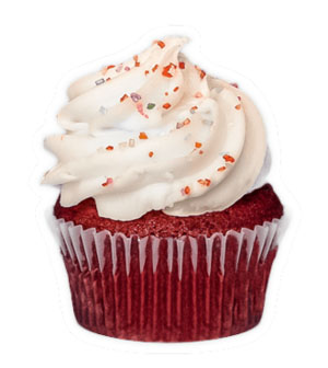Red Velvet - Grandma's recipe! Traditional red velvet recipe with a touch of cocoaand topped with cream cheese frosting