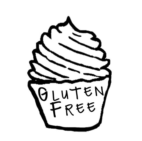 "Gluten Free - We offer a few Gluten Free flavors daily.Give us a call to see what we'vebaked up today! Have questions aboutour GF cupcakes?Take a look at our ""specialty cupcake"" tabunder ""info"""
