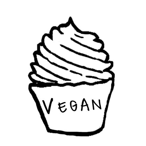 """Vegan - We offer a few Vegan flavors daily.Give us a call to see what we'vebaked up today! Have questions aboutour Vegan cupcakes?Take a look at our """"specialty cupcake"""" tabunder """"info""""."""