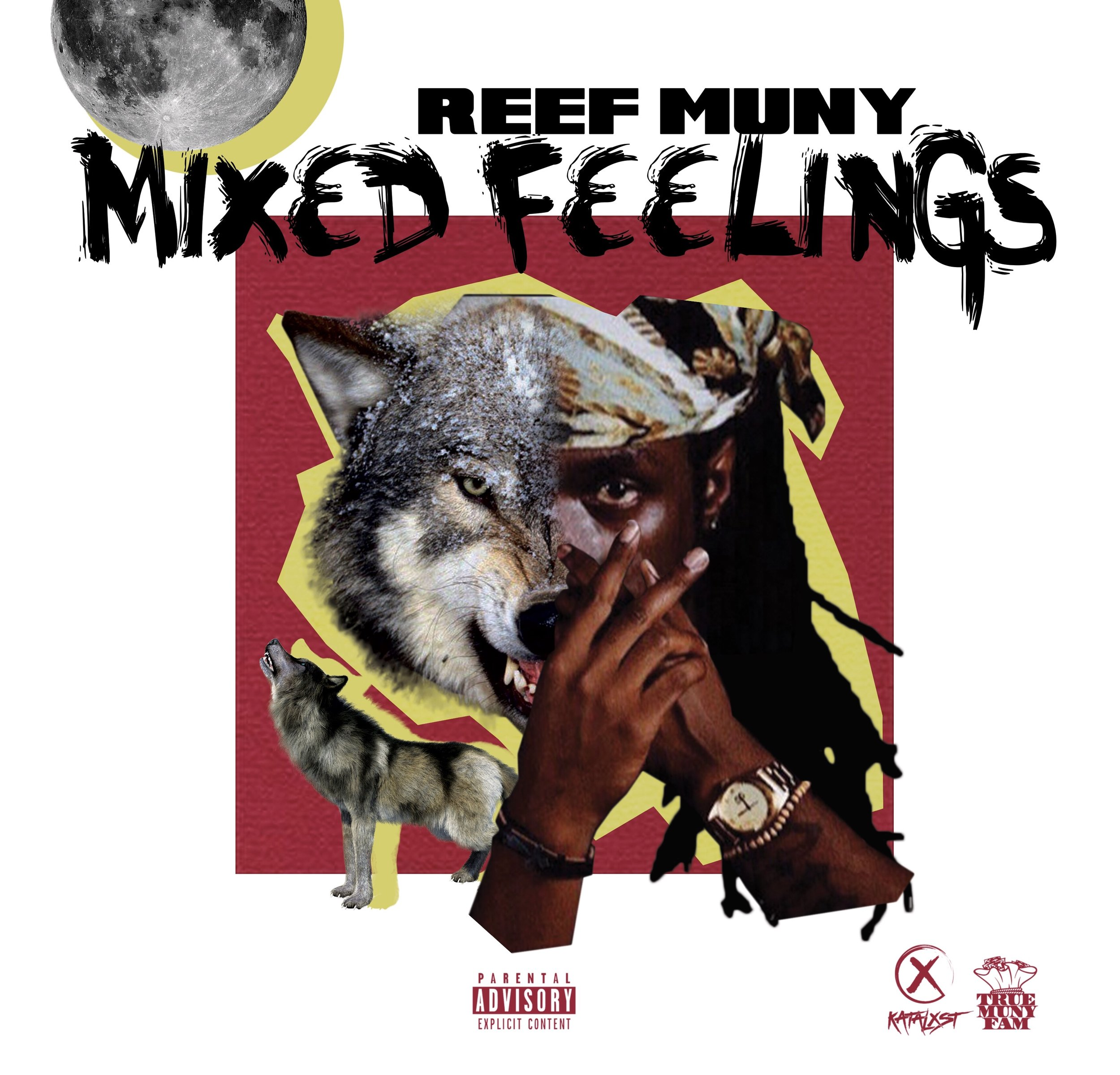 "Reef Muny Released his EP ""Mixed Feelings"" June 28th - With collaborations from Multiplatinum Prod. Eardrummer JBO, TMF Luciiano and Rapper Yung HD to name a few, Reef Muny has put together a collection of different vibes and feels on his debut EP ""Mixed Feelings"
