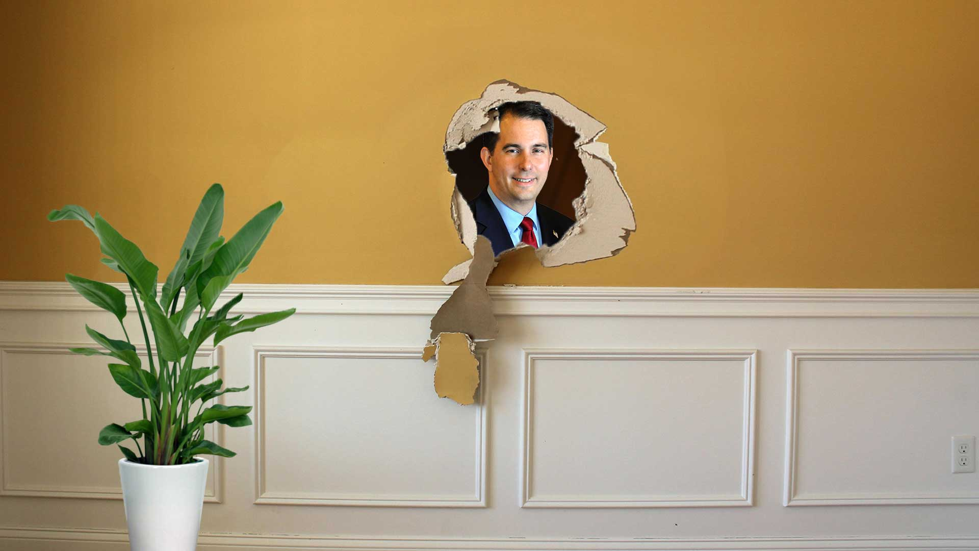 Scott-Walker-Burrows-into-Governors-Mansions-Walls,-Refuses-to-Leave.jpg