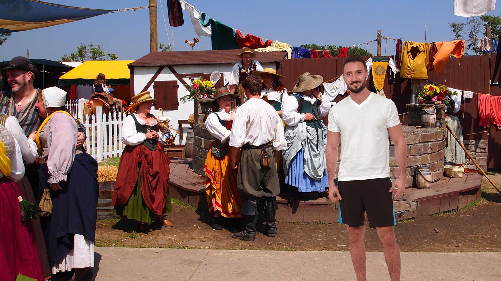 Guy-Wearing-Gym-Shorts-at-Renaissance-Festival-Completely-Killing-the-Vibe.jpg