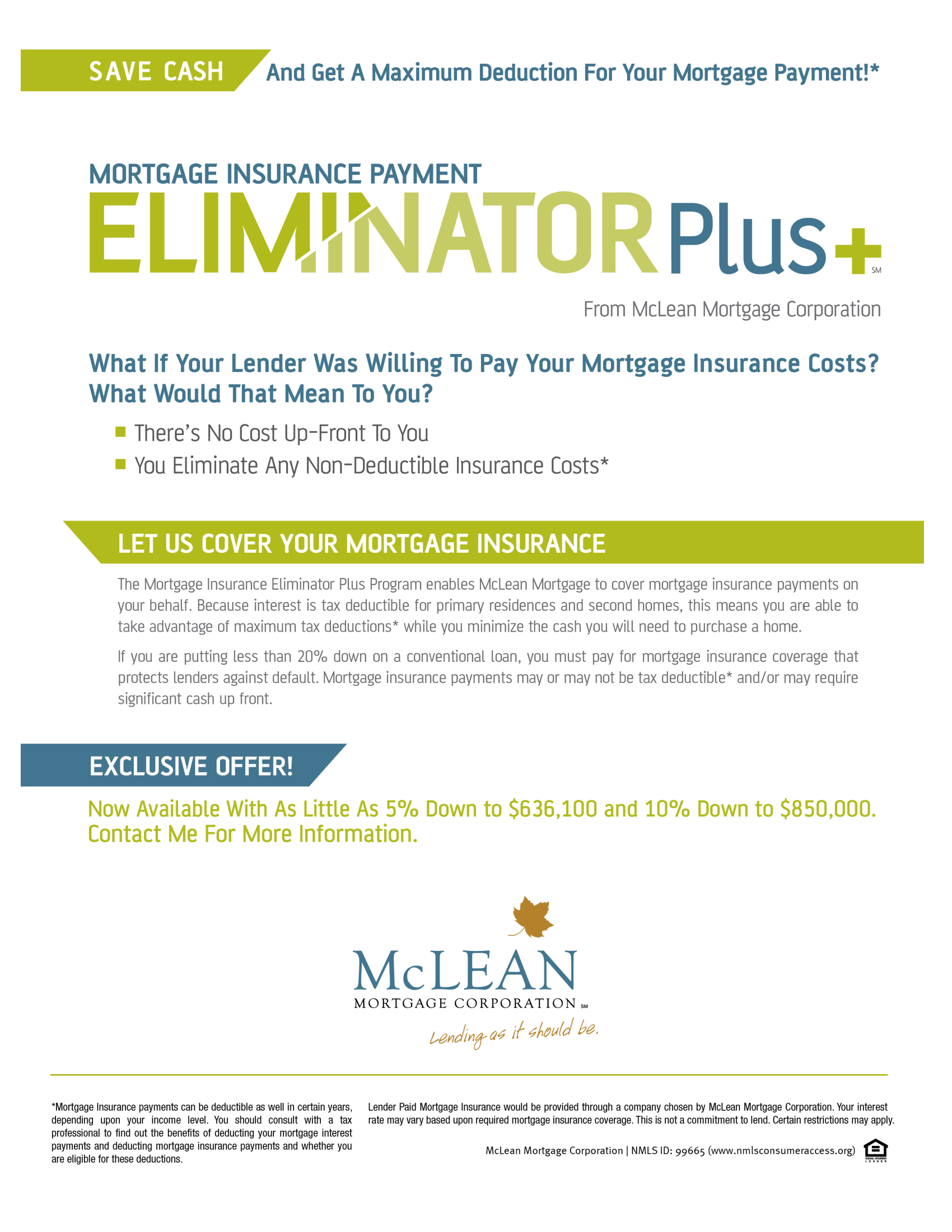 Mortgage Insurance Payment Eliminator Plus wExclusive Offer_Flyer.png