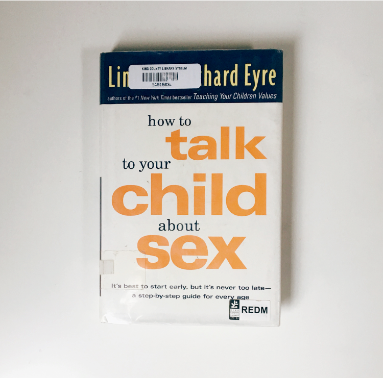 how to talk to your child about sex book