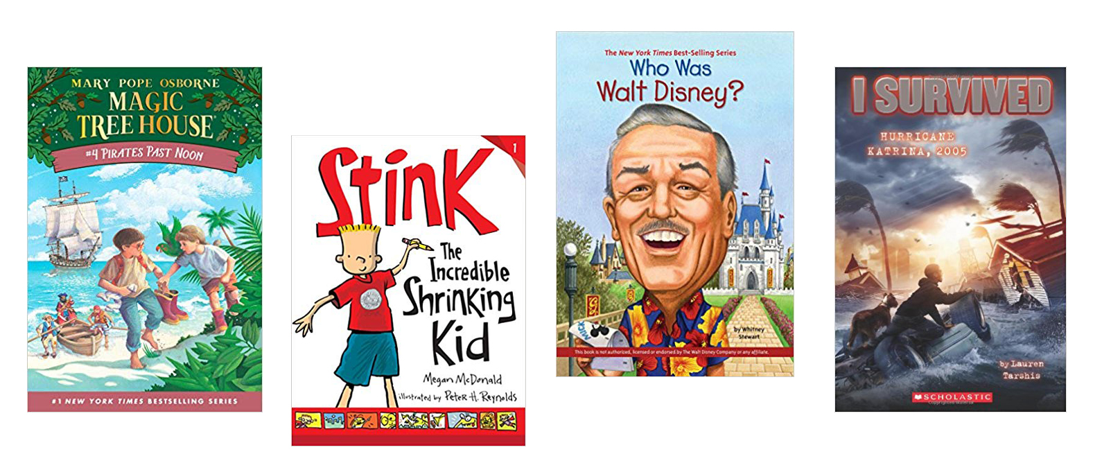 book series for boys