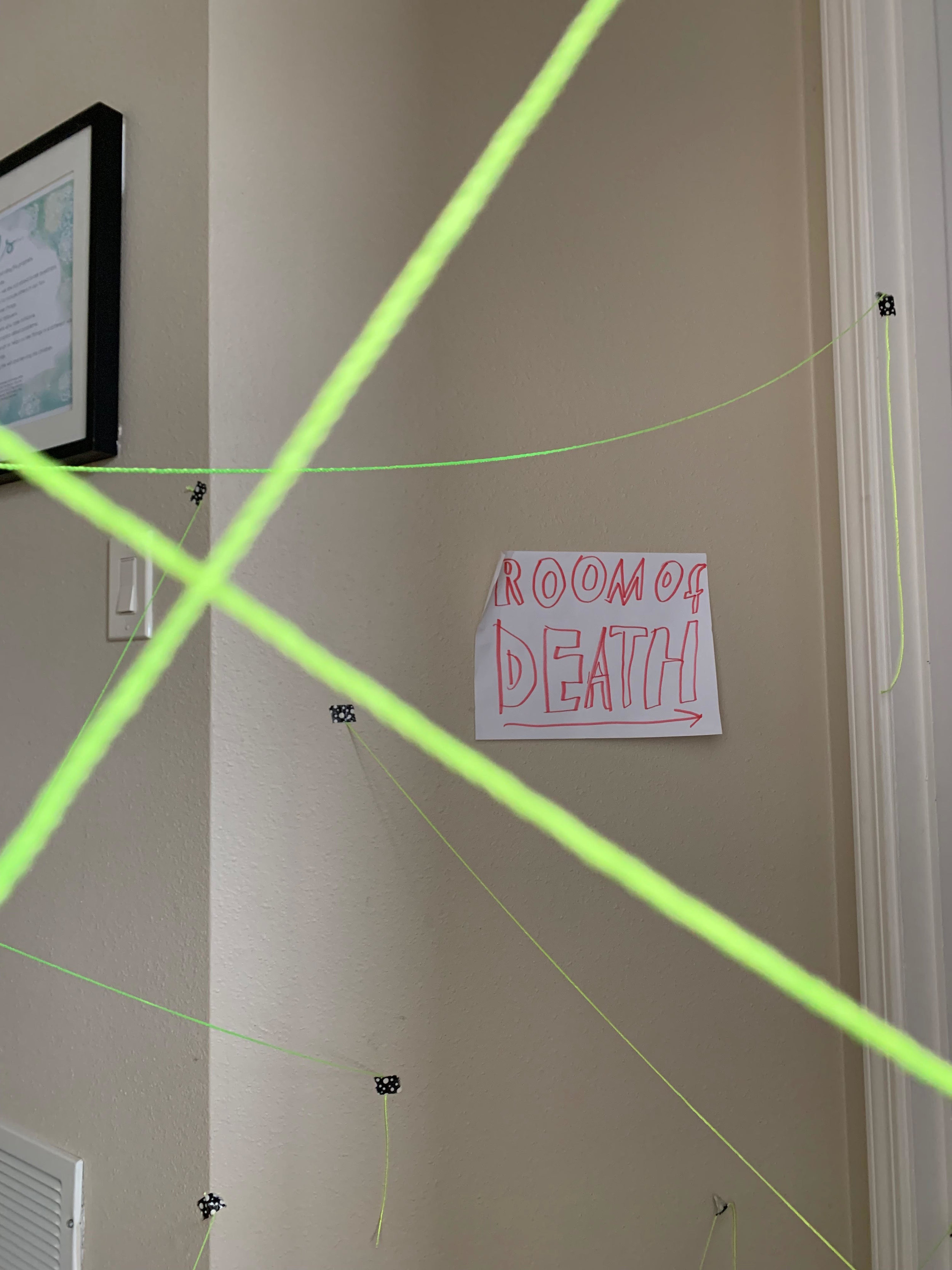 Make a laser maze -- plus 50 more ideas for fun when you're stuck inside