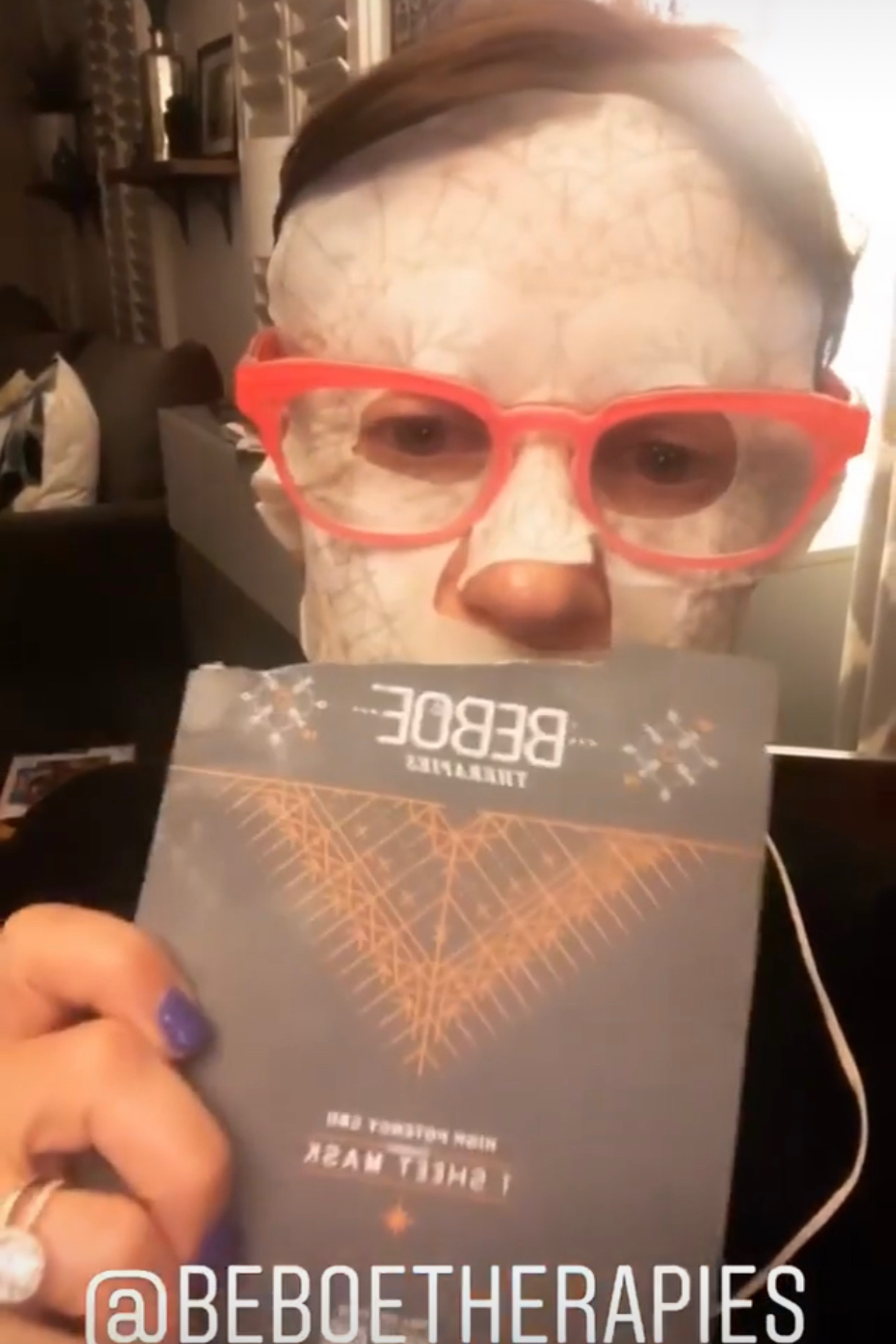 I tried Beboe's unreleased masks ;)