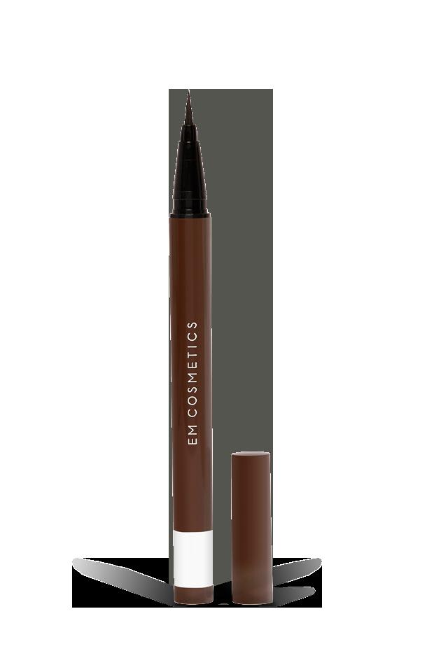 Em Cosmetics Brown Brush Tip