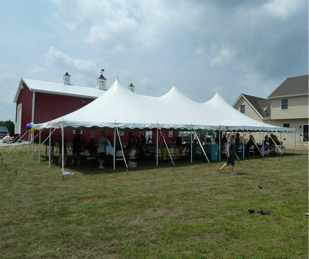 30x60 Pole Tent