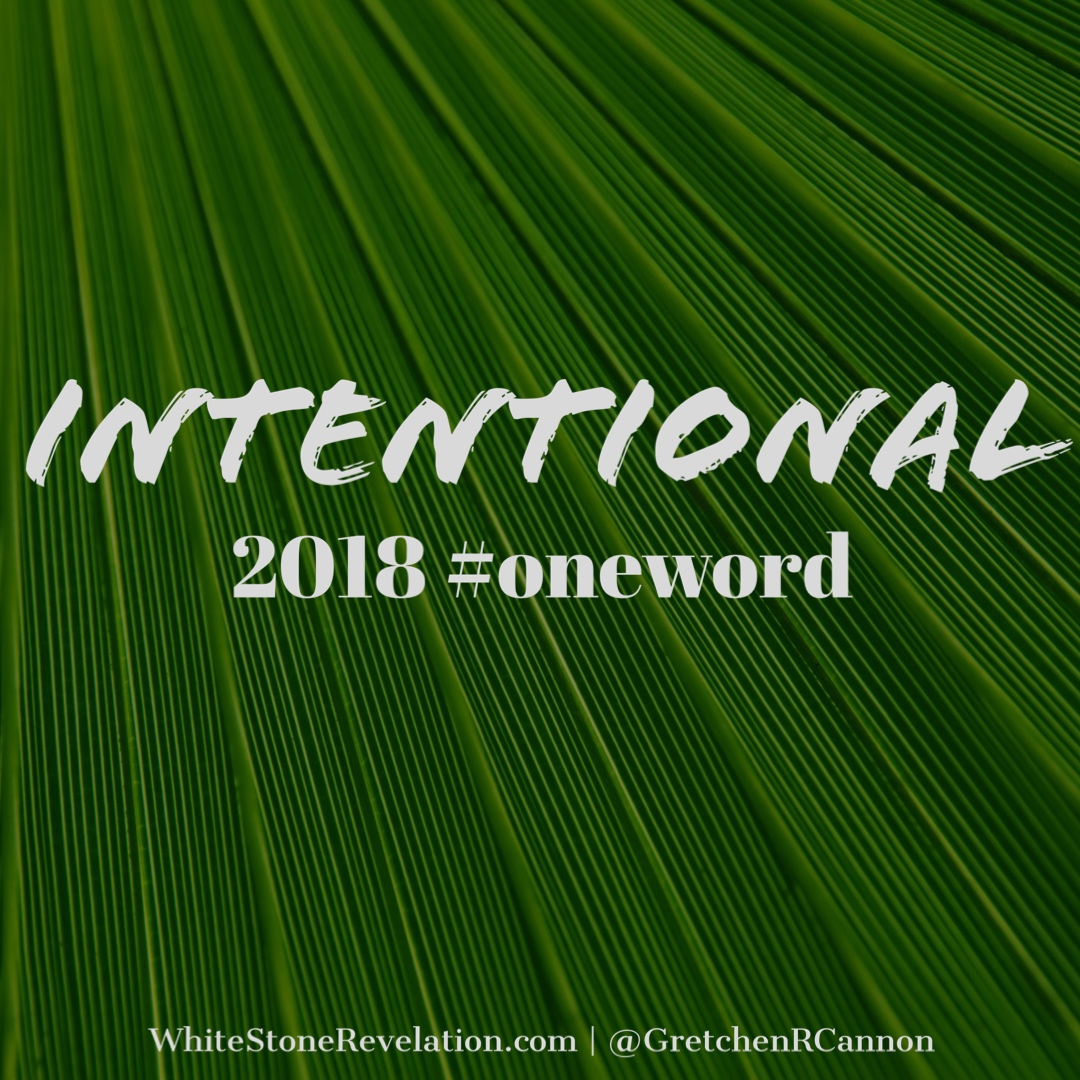 Intentional OneWord 2018