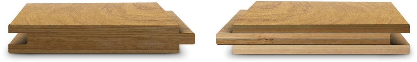 Solid wood vs engineered