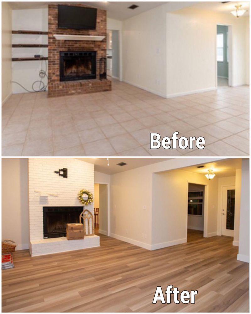 before and after vinyl plank floor 1.jpg