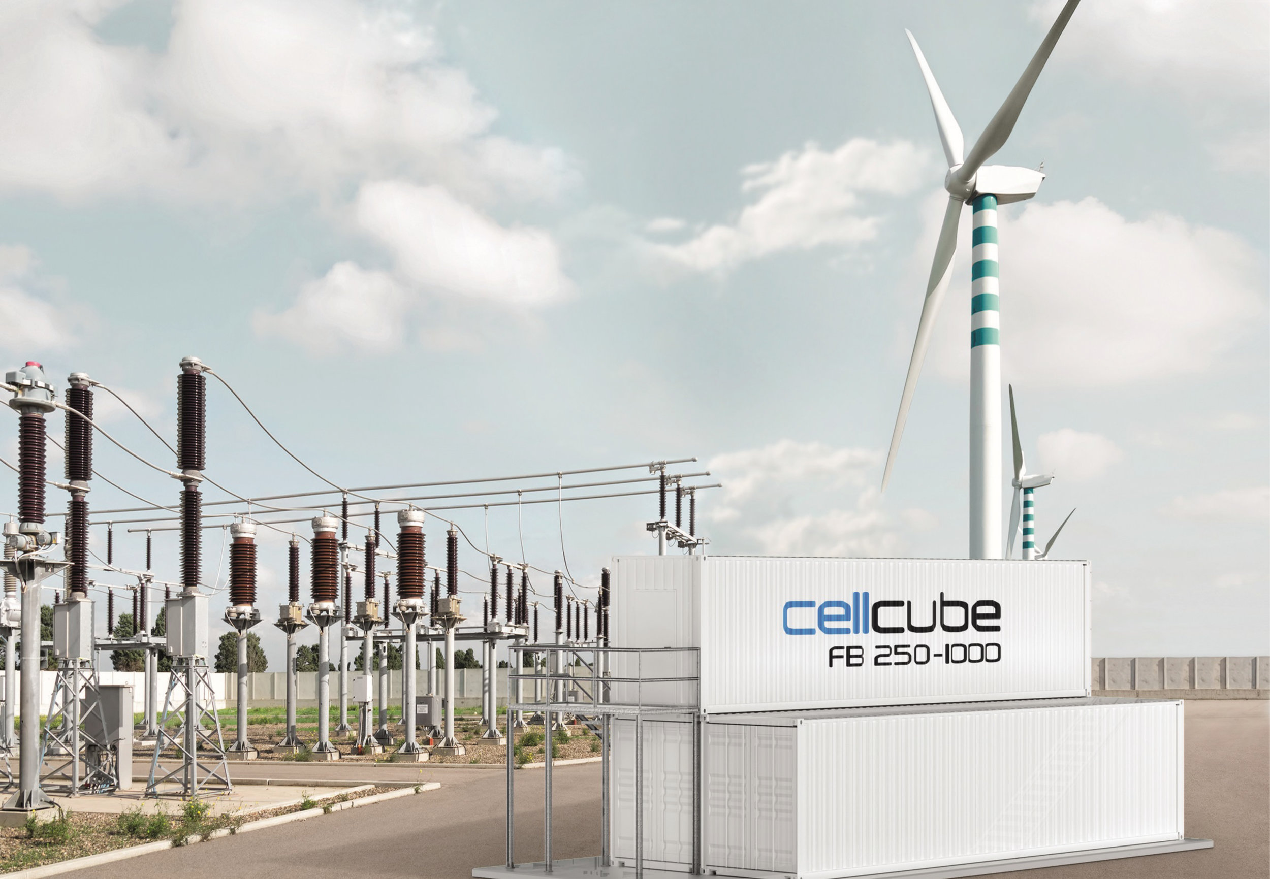 The most advanced energy storage system.   Vanadium redox flow technology      GET THE NEWSLETTER ▸