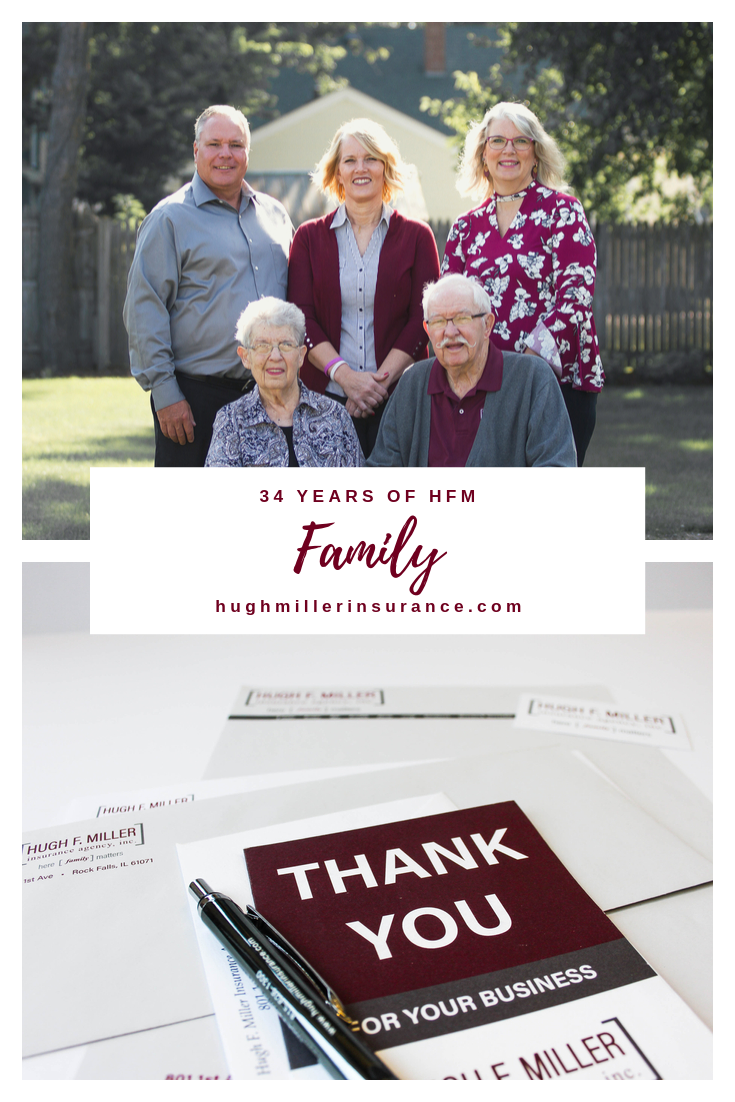Hugh F Miller Insurance Agency 34 years of HFM Family.png