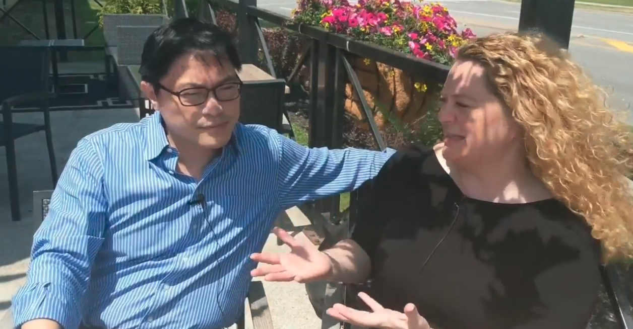 Dr. Jason Fung and Eve Mayer