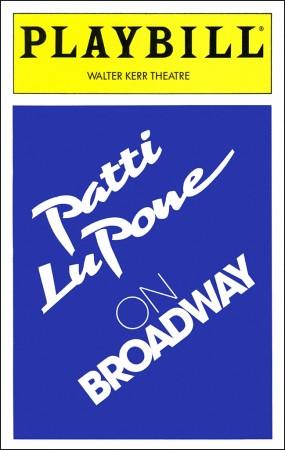 Patti LuPone on Broadway(Oct 12, 1995 - Nov 25, 1995) - 1995 BroadwayAdditional musical arrangements by Marc Shaiman