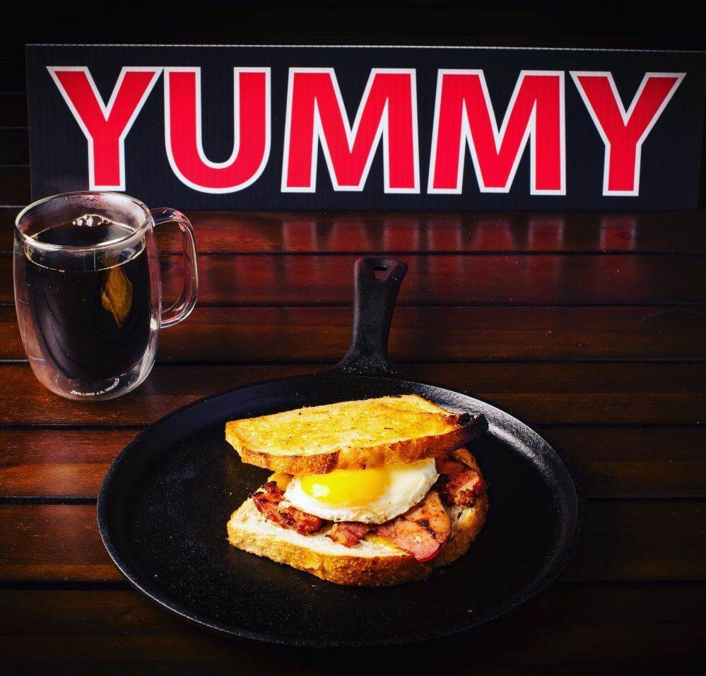 Breakfast sandwiches that are made to order with real ingredients like Irish Butter, Vermont Cheddar, Organic Fried Egg, with your choice of Fresh Carved Ham, Specialty Local Sausage, Bacon or Chicken