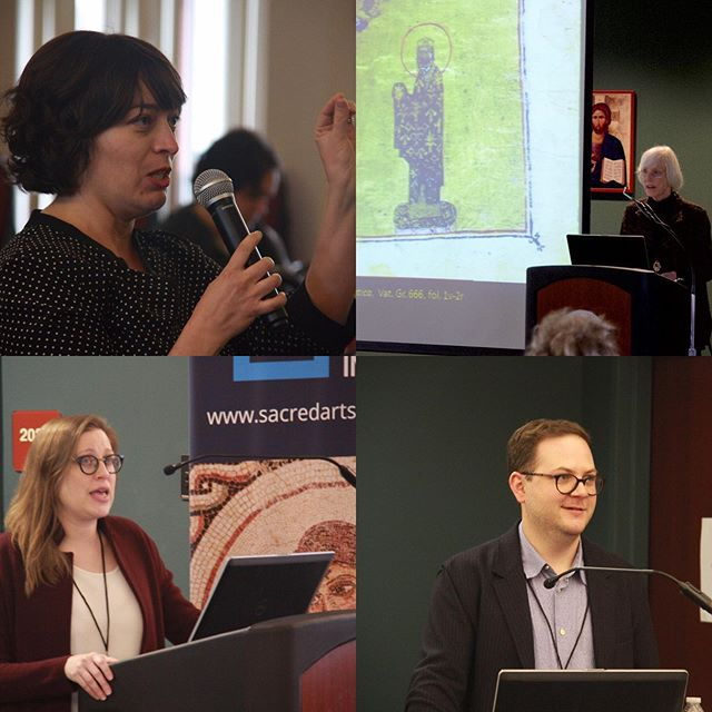 Thanks to all who made our recent Byzantine Materiality conference such a success! #gratitude #byzantinemateriality #sacredartsinitiative #svotslife #henrylucefoundation
