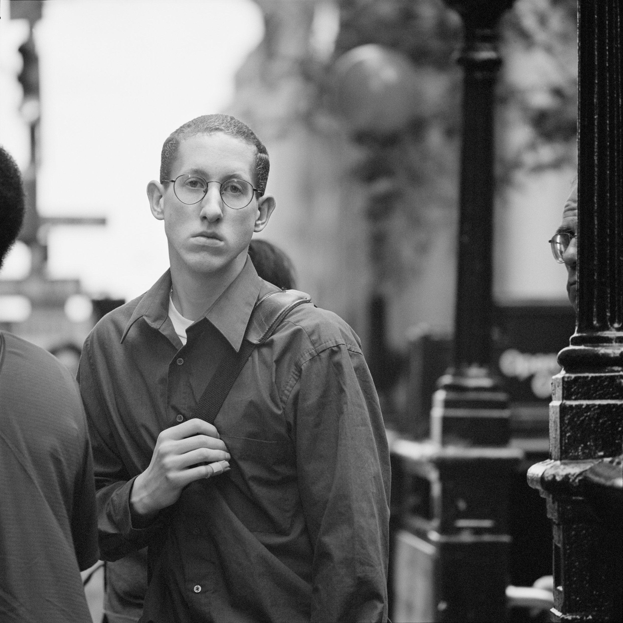 Financial worker ,New York Stock Exchange, 1999
