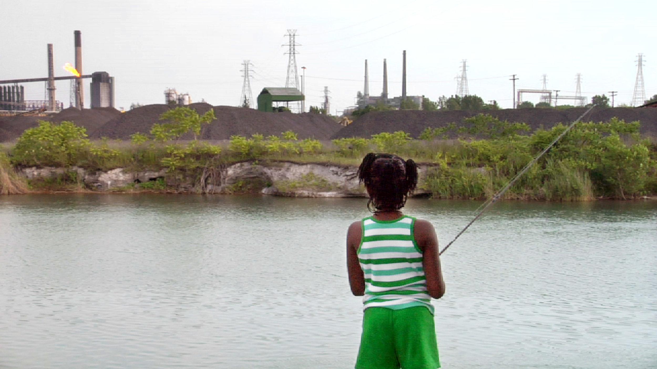 Toxic Detroit , 2011    Color, HD video, 10:00