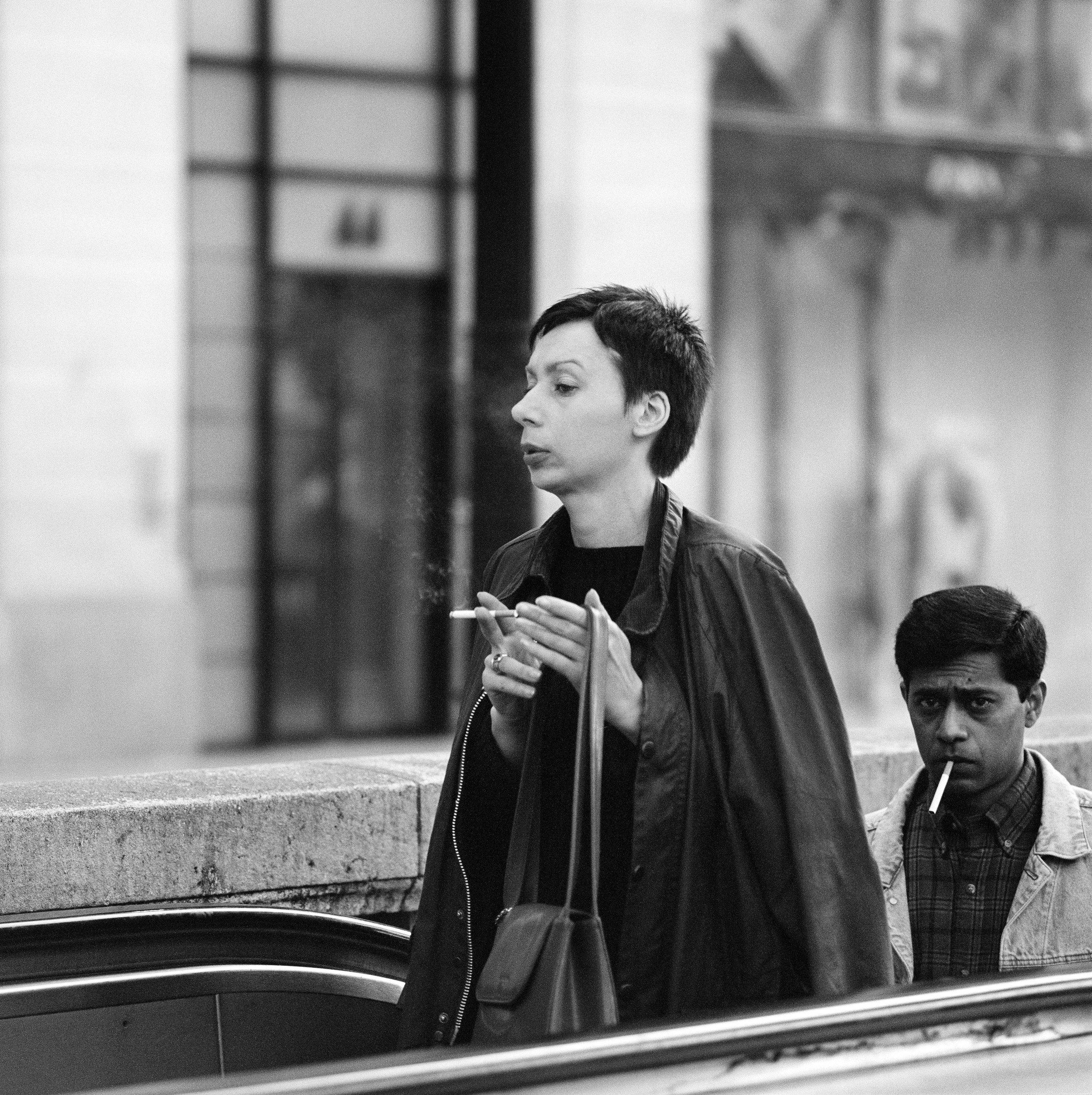 Financial worker, Champs Elysée, Paris, 2001