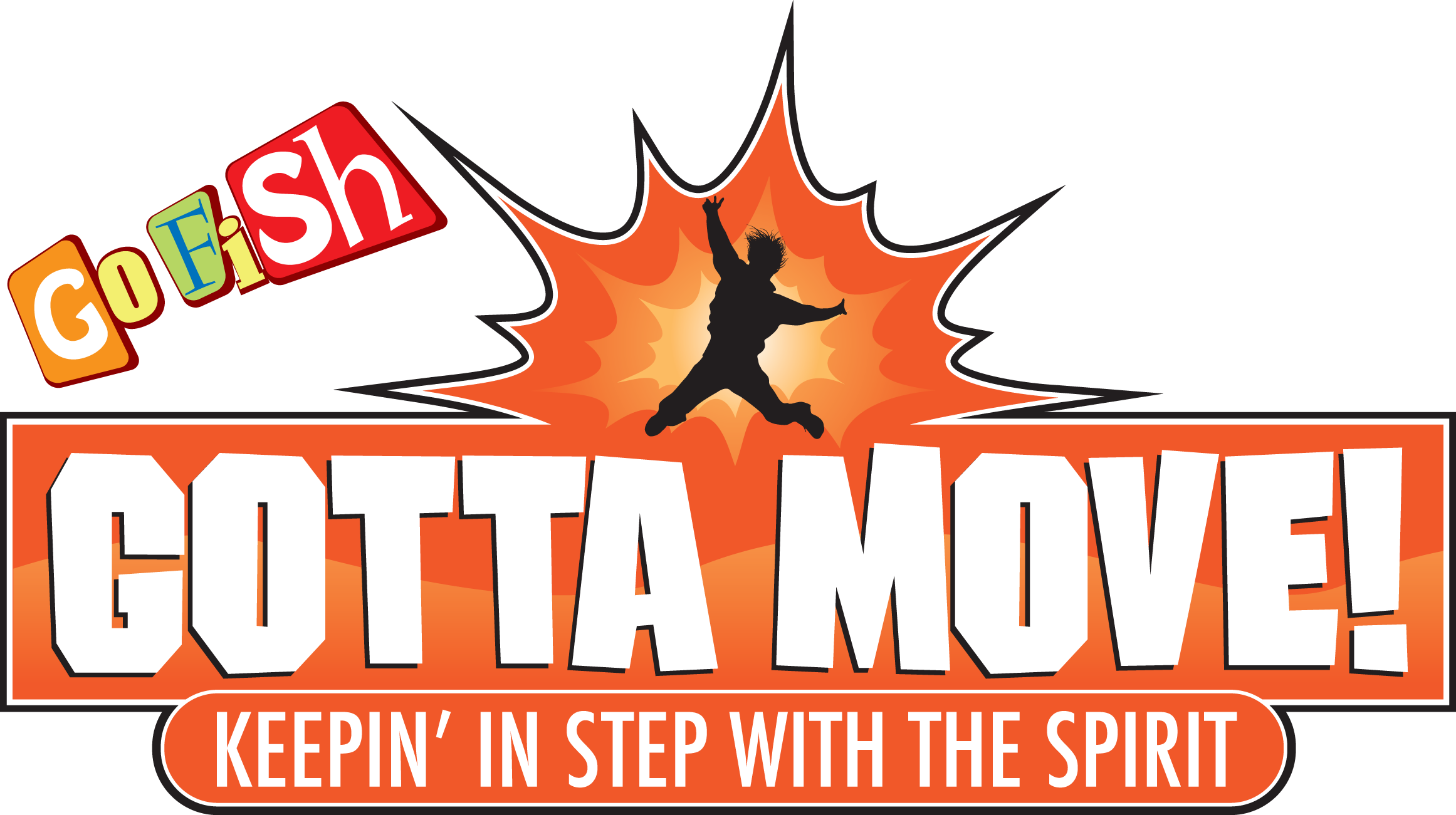 Gotta move! - Gotta Move! is a Vacation Bible School curriculum designed to give children a biblical understanding of what it means to be a Christian and walk with God. Each day children will see that God provides everything we need to be close to Him. However, He does require a response- having faith means we Gotta Move!