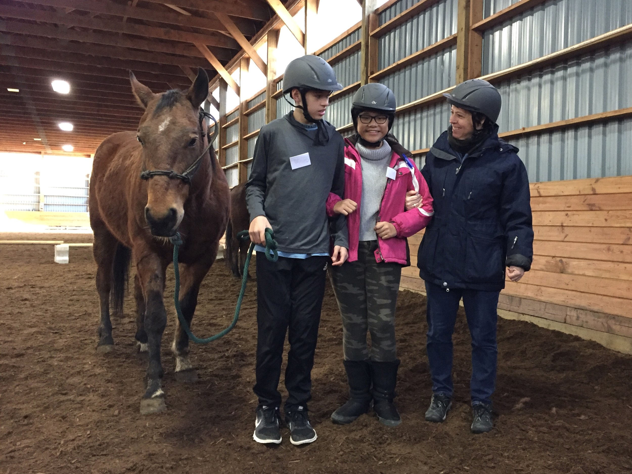 Burnaby youth are learning with horses at the Burnaby Equestrian Centre