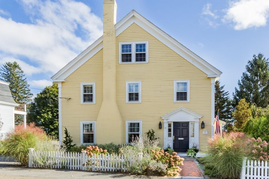 One of the houses featured in Boston Magazine's article showcasing yellow houses for sale in the fall of 2017. Records on Zillow show the house sold for its asking price.