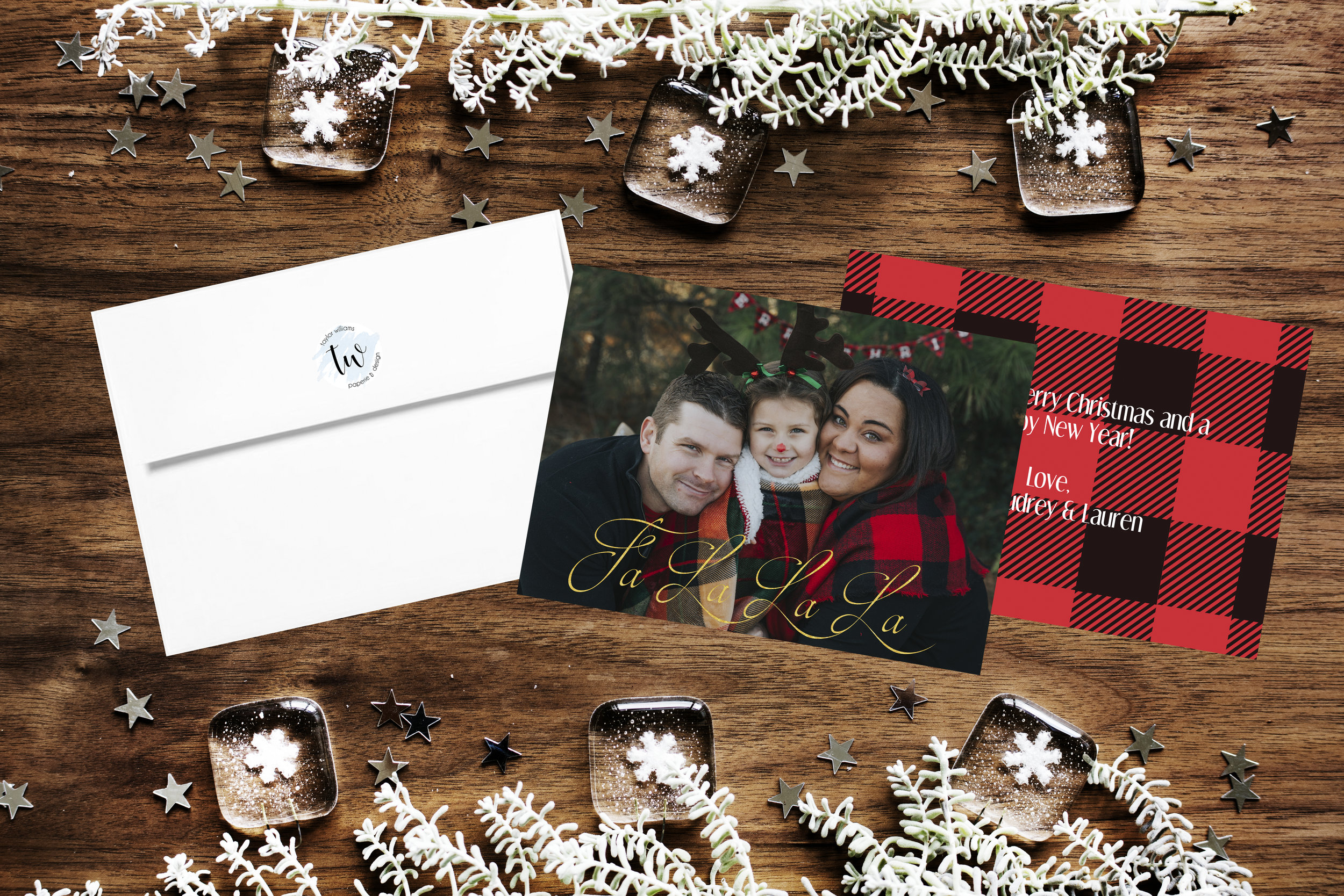 Double Sided Photo Card; Photo Credit: Shelby Renee Photography