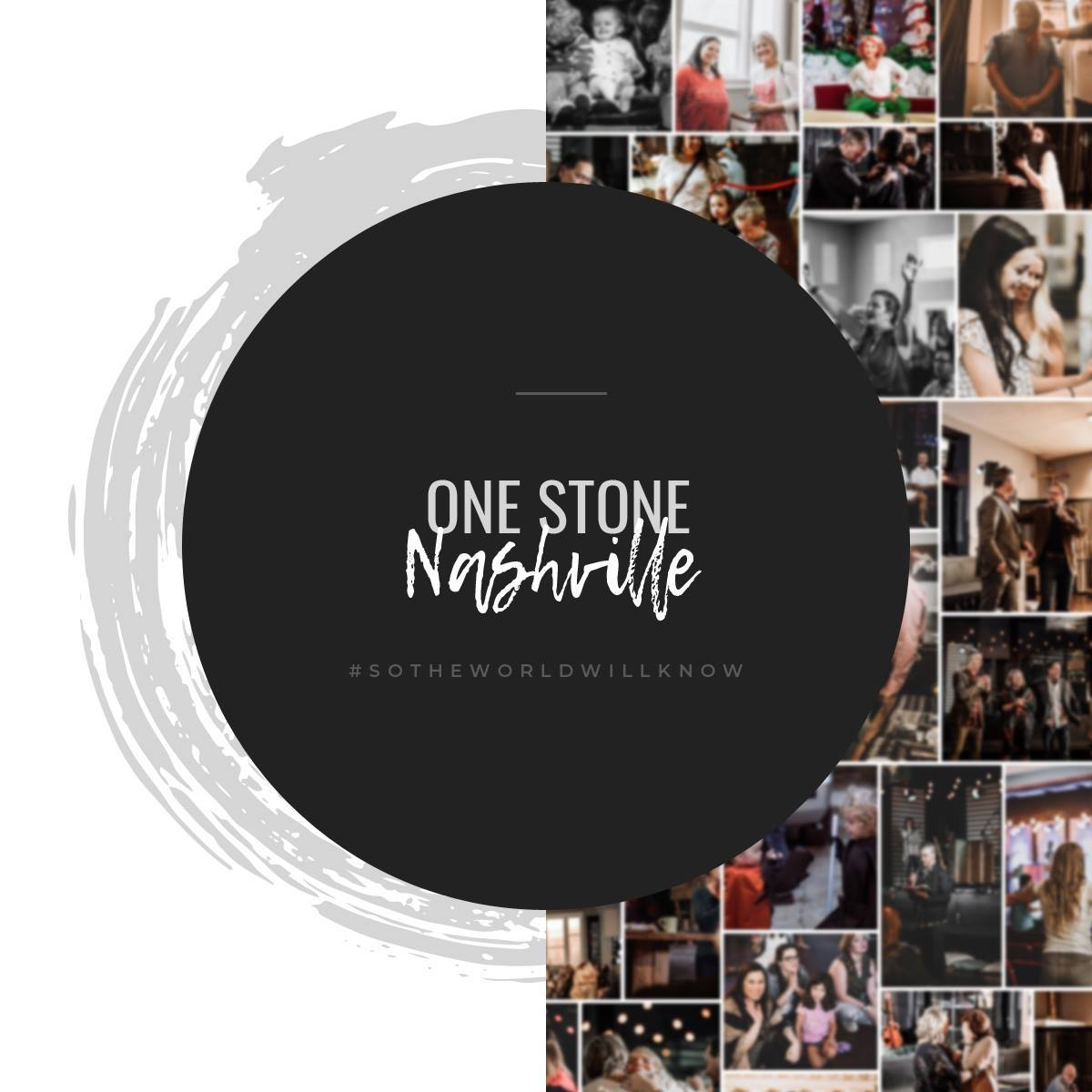 ONE STONE NASHVILLE - We are a community of revival-minded believers focused on hosting the presence of God, both individually and corporately, to impact our community, our city, and our world. Authenticity, transparency, and intentionality are the key values woven into everything we do. Our goal is to create a community where you know you are loved, accepted, and respected just as you are when you walk through our doors.