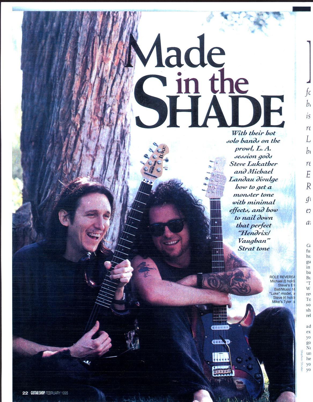 1995 Guitar Shop